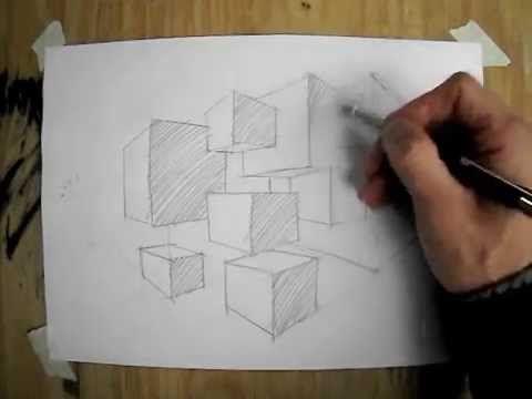 Desenho e Pintura - Desenhando perspectiva | Vídeo 2