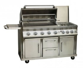 The SYAM Mobile Exclusive 8 Gas Burner Braai – When Only the Best Will Do
