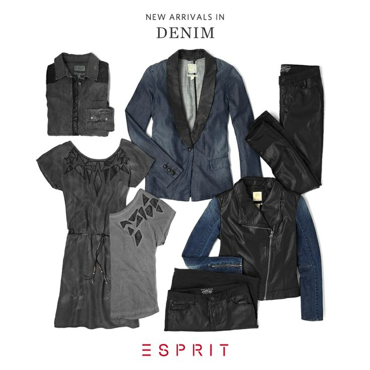 Say hello to #winter with these denim all-rounders: #dresses with #leather details, boyfriend #jeans and #vintage look #blouses – combined with #knitted #cardigans. Has winter already arrived in your hometown?