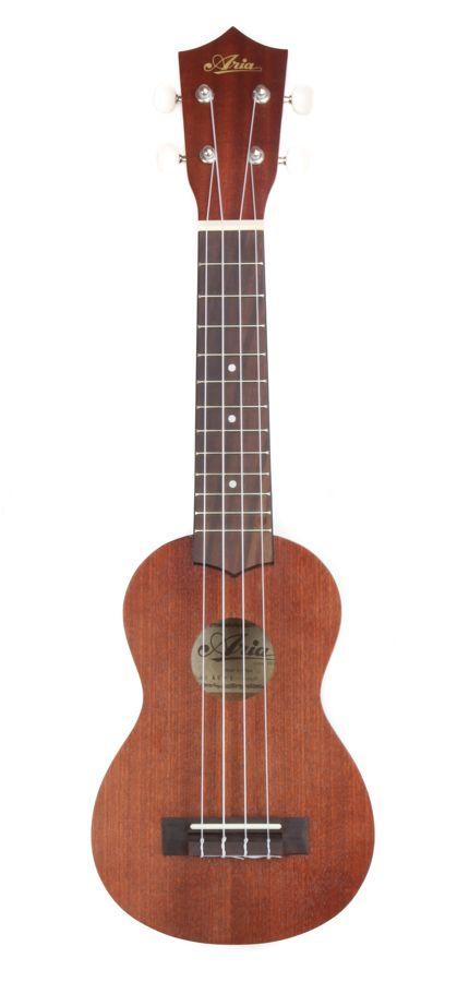 Aria AU-1 Mahogany Soprano Ukulele. £49.95. Duke of Uke. An absolutely stunning instrument at a fantastic price. Beautiful sound for this class of Uke.
