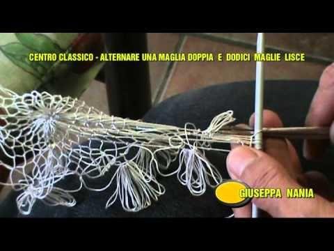 Centro Classico in filet in tondo 4^ parte