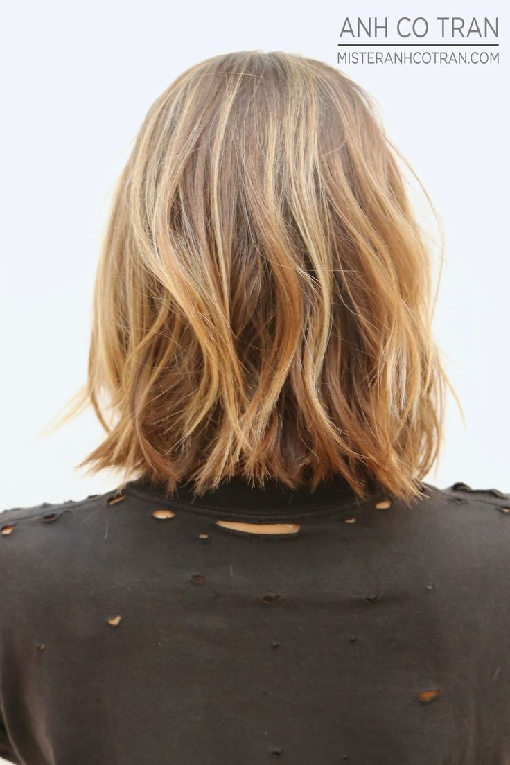 Short layered look - hair style