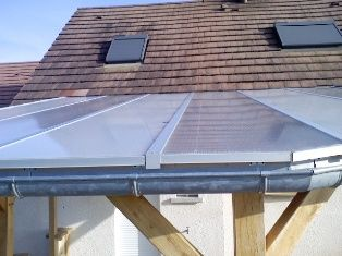 Toiture polycarbonate