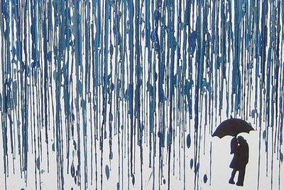 this crayon art rain is going to be the one I am going to attempt. Of course I could just do both as my new apartment is going to need some art :-)