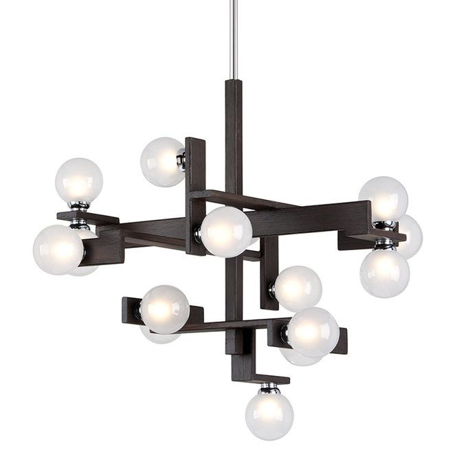 Check out Bubble Squared Chandelier - 15 Light from Shades of Light