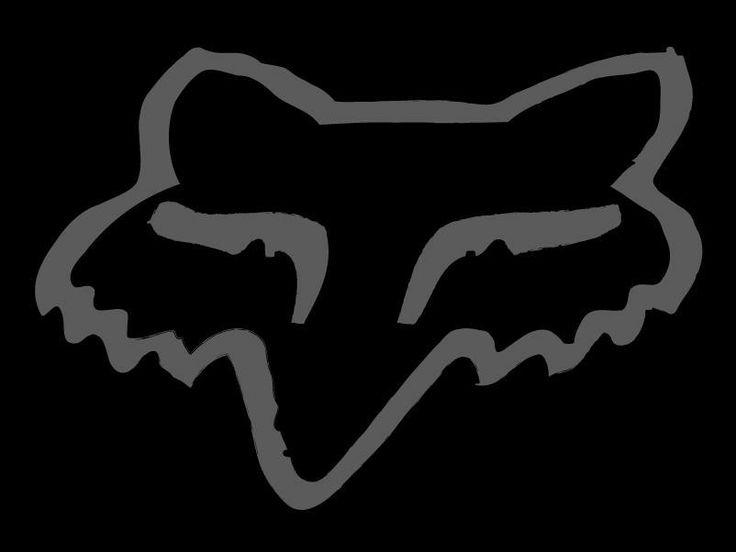 Fox Racing Black Logo