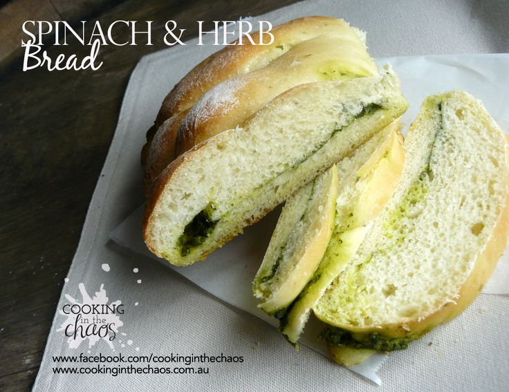 Spinach & Herb Bread - Thermomix Recipe