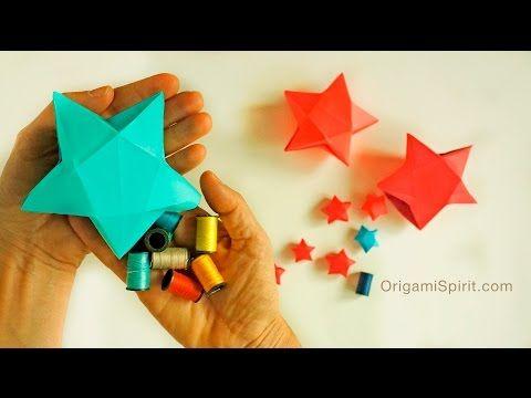 折り紙でラッキースター☆星の折り方・作り方22選 | Handful