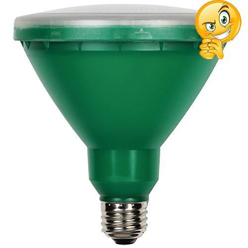#christmasshopping The #Westinghouse 15-Watt (100-Watt) Green PAR38 Reflector LED Indoor/Outdoor Light Bulb with Medium Base can reduce energy and operating cost...