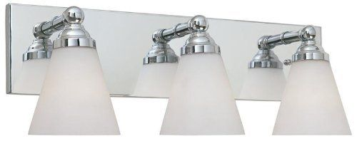"Designers Fountain 6493-ORB Bath & Vanity Light by Designers Fountain. $58.50. Height: 7-1/2"". Width: 21-3/4"". Oil Rubbed Bronze. 3 Light  Bath. Save 40%!"