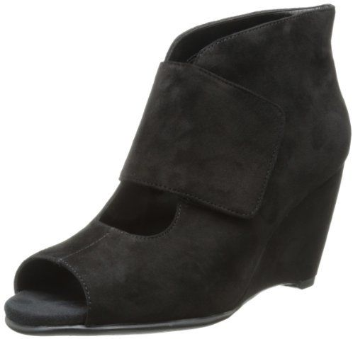 $60, Black Suede Wedge Pumps: Rosoles Sound Wave Wedge Pump by Aerosoles. Sold by Amazon.com. Click for more info: http://lookastic.com/women/shop_items/106217/redirect