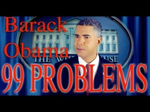 99 Problems But Mitt Ain't One (Obama Rally)