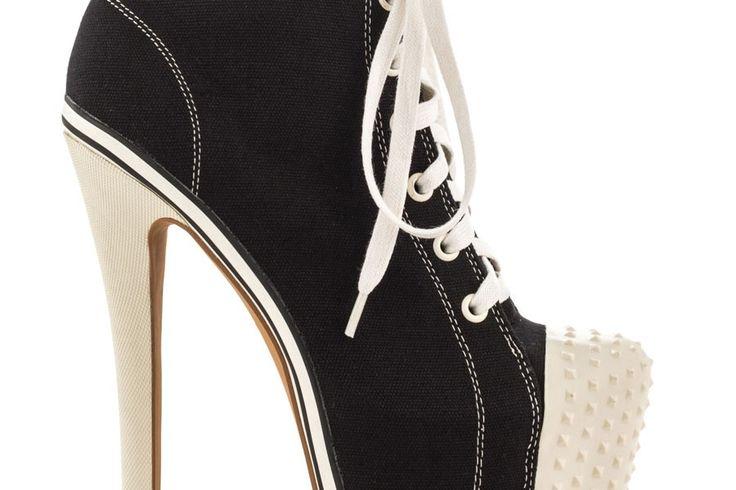 İnce Topuklu Converse Ayakkabı Modelleri