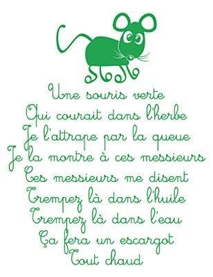 Une souris verte                                                                                                                                                                                 Plus