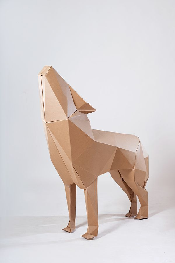 Based on childhood memories, the red cape project is a cardboard installation with the intention to bring those memories back, the presence of wolves, in a new context and new shapes using cardboard as a mean to delivery the message.