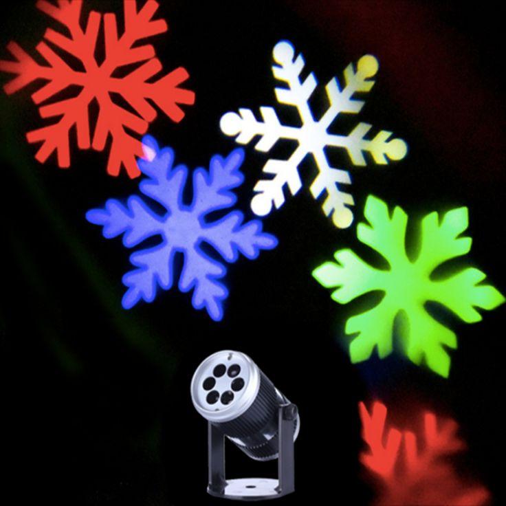 Купить 1X новое прибытие 2016 крытый снежинка свет проектора, счастливого нового года проектор, мини красочные снежинка свет управления звукоми другие товары категории Сценическое освещениев магазине Shenzhen VNL Lighting Co.,LTDнаAliExpress. снежинка светодиодный проектор и свет звук