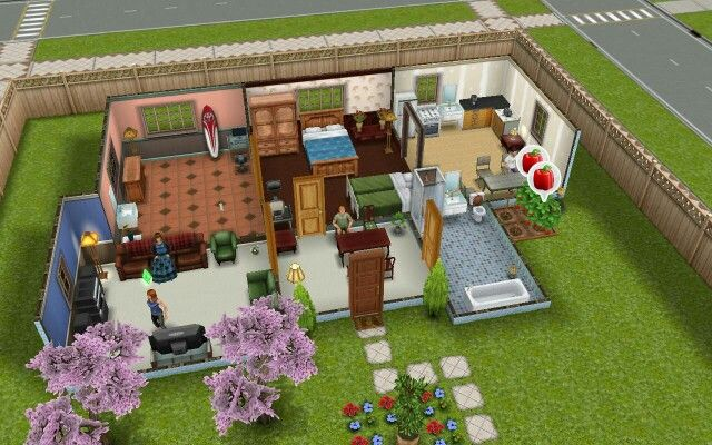 Los sims free play esta es mi casa de los sims frozen for Casa de diseno the sims freeplay