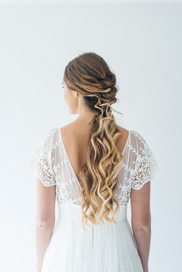 70 best wedding hair images on Pinterest | Chignons, Gorgeous ...