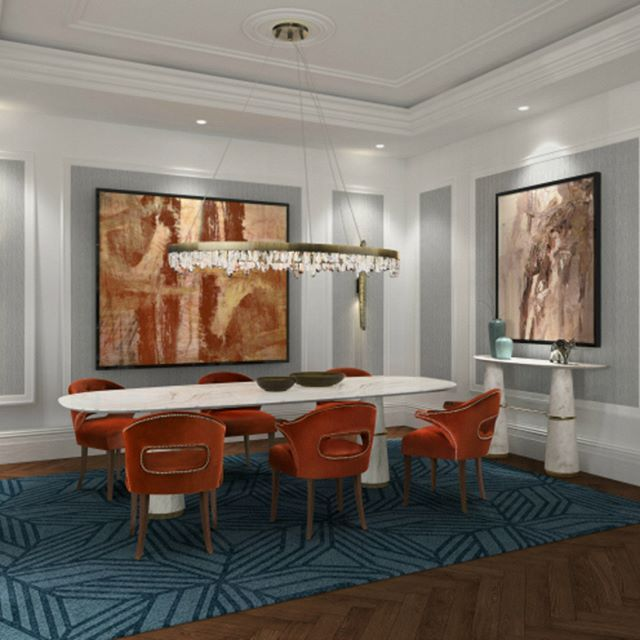 Trendy dining room tendencies for your future home || Get relaxed in one of the finest pieces at home and follow the latest interior design trends || #homedecor #homedecoration #decoration || Check it out: http://homeinspirationideas.net/category/room-inspiration-ideas/dining-room/