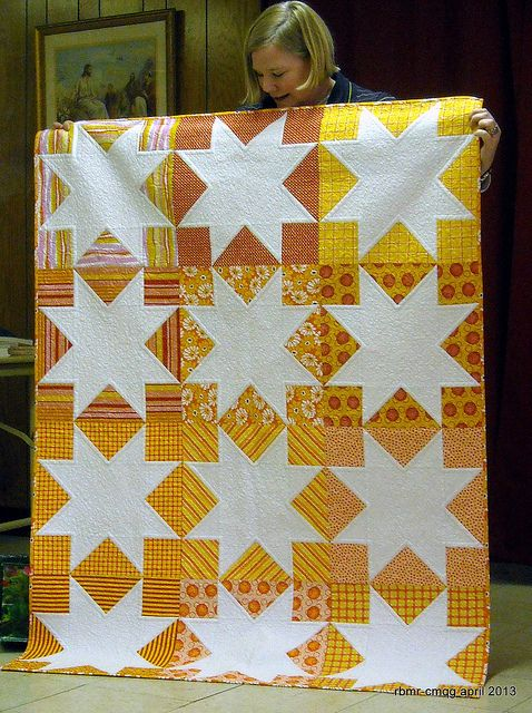 Chicago Modern Quilt Guild April 2013 by the-randomcrafter, via Flickr