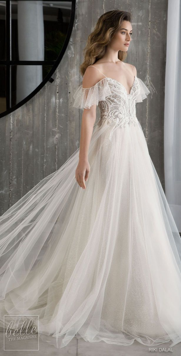 Riki Dalal Wedding Dresses Spring 2019: Glamour Bridal Collection #Wedding #Dres…