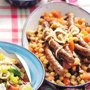 Recept - Aubergine met lam en couscous - Allerhande