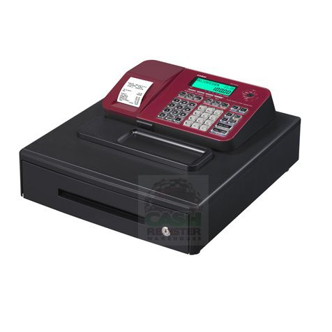 CASIO SE-S100 CASH REGISTER RED