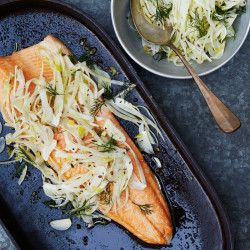 Slow-Roasted Salmon with Fennel, Citrus, and Chiles Recipe - Bon ...