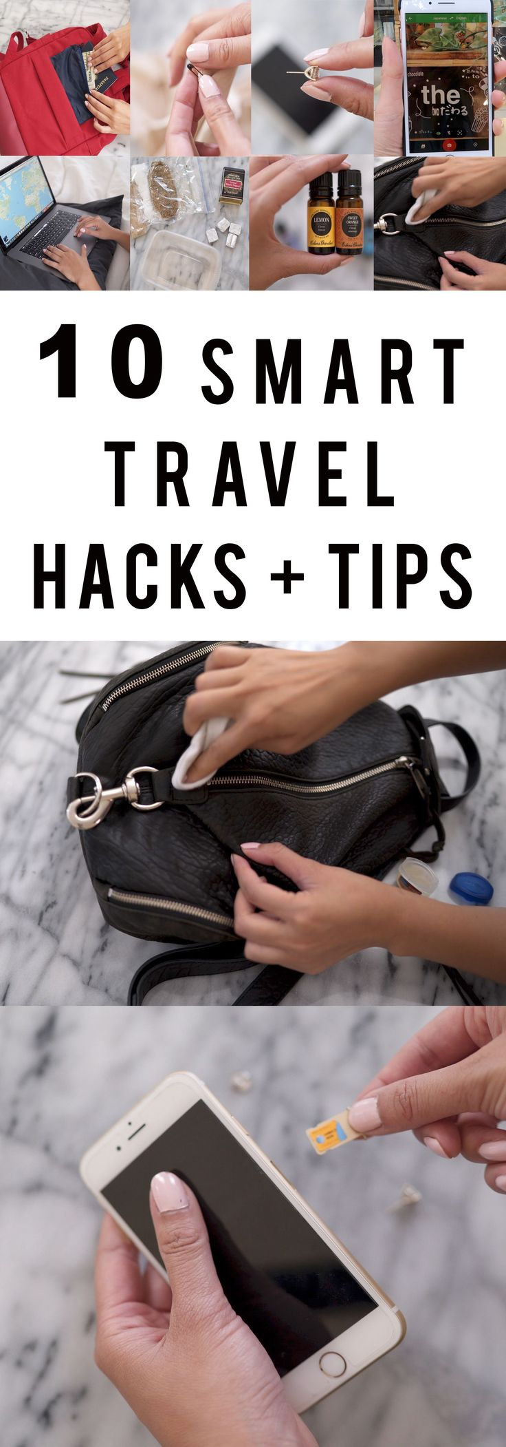 10 SMART TRAVEL HACKS + TIPS | SUMMER 2017 – Ann Le Style