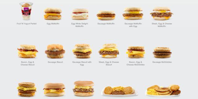 The Entire McDonald's Breakfast Menu, Ranked  - Delish.com