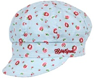 Rosie Baker Cap. Perfect for summer or winter and just far too cute! 100% cotton