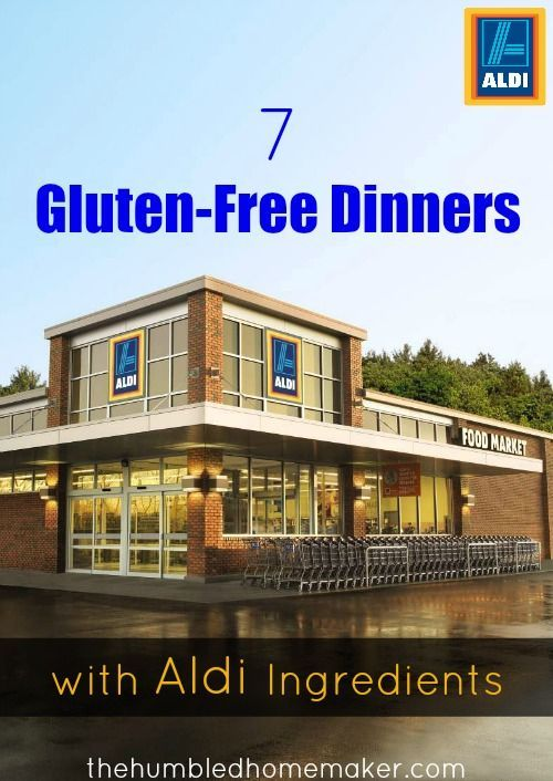 I think you will love these 7 gluten-free dinners made with ingredients from ALDI! Within the past year or so, I've seen a huge shift in my grocery shopping. With ALDI's introduction of both their SimplyNature and liveGfree lines, I can now get 90-95% of my groceries at ALDI!