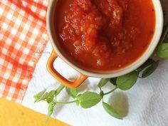Molho de Tomate Caseiro. Receita pra guardar no caderninho. Completíssima em http://gordelicias.biz.