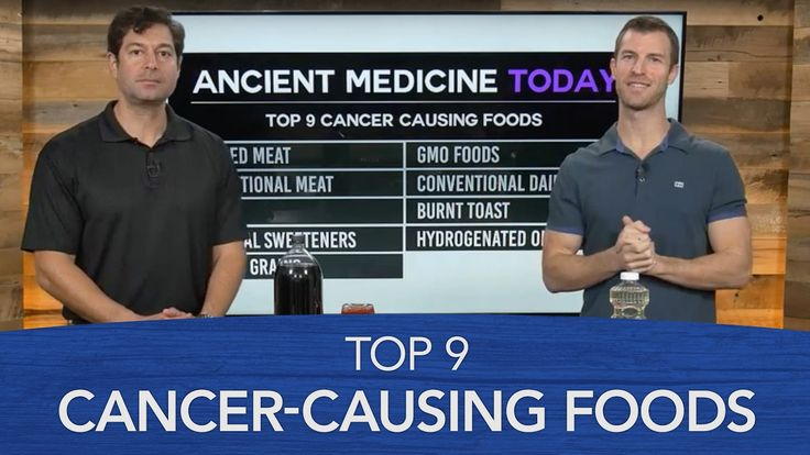 Top 9 Cancer-Causing Foods - YouTube