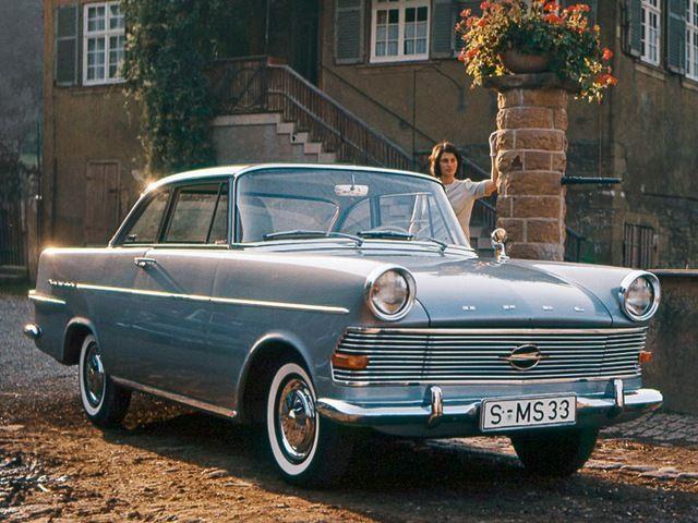 Opel Rekord Coupé - 1961