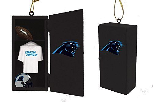 Team Sports America Carolina Panthers Team Locker Ornamen