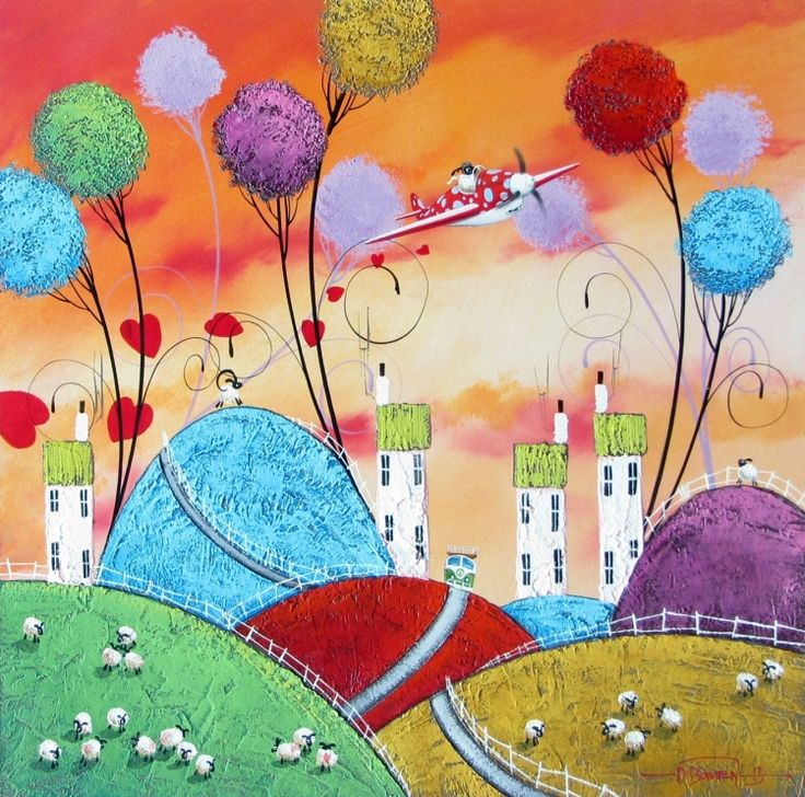 Buckingham Fine Art Publishers - limited editions and original fine art - Dale Bowen - Spreading the Love NEW