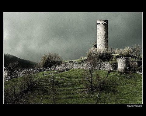 Castle of Comano in Lunigiana.
