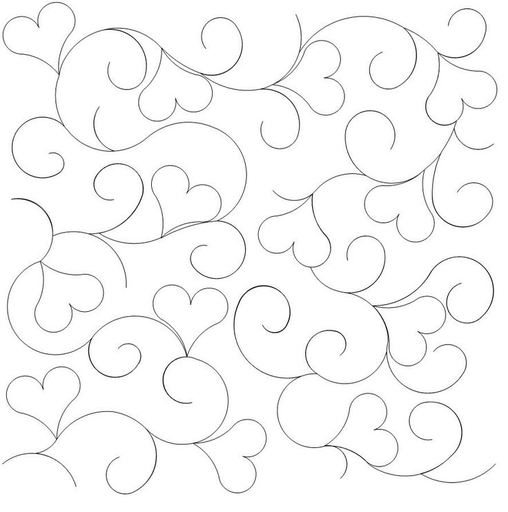37 best Christmas Longarm Patterns images on Pinterest Free - loose leaf template