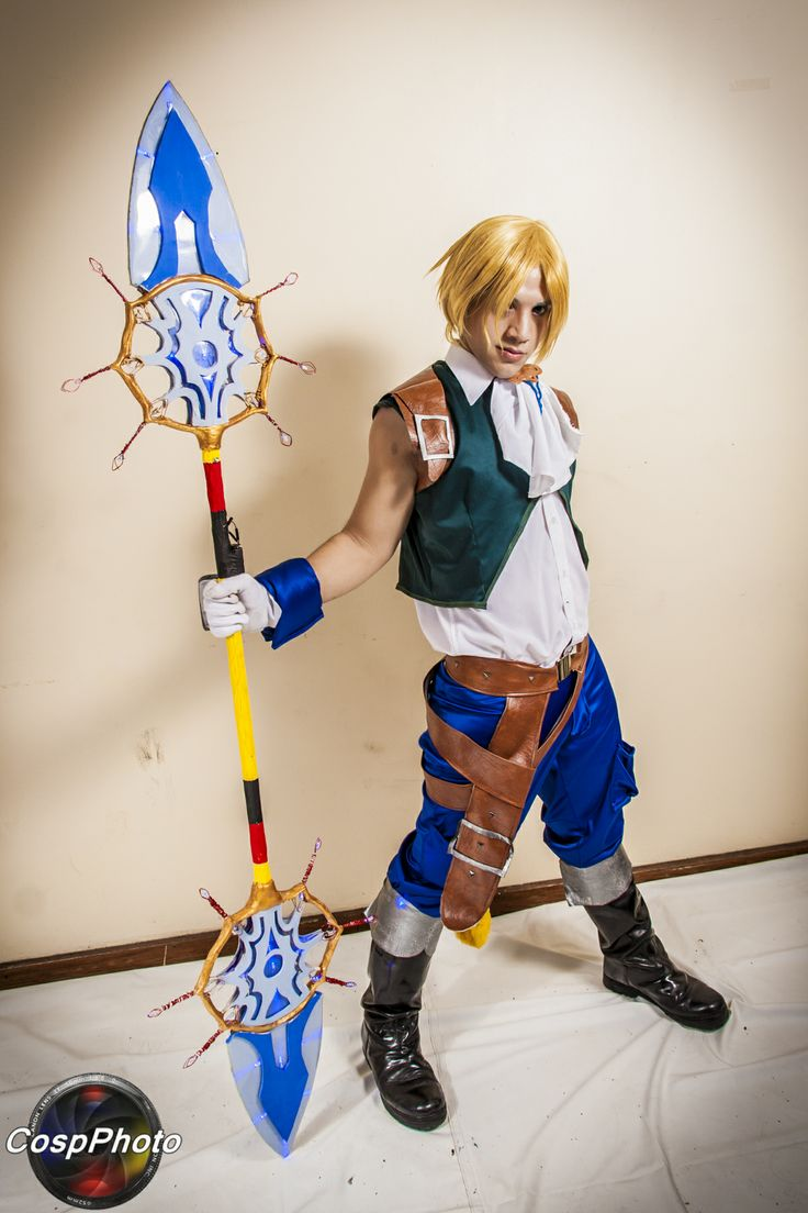 cosplay zidane tribal final fantasy ix cosplayer facu pujol lugar bauen hotel buenos. Black Bedroom Furniture Sets. Home Design Ideas