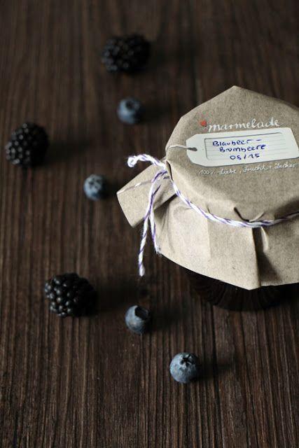 Blaubeer-Brombeer-Marmelade