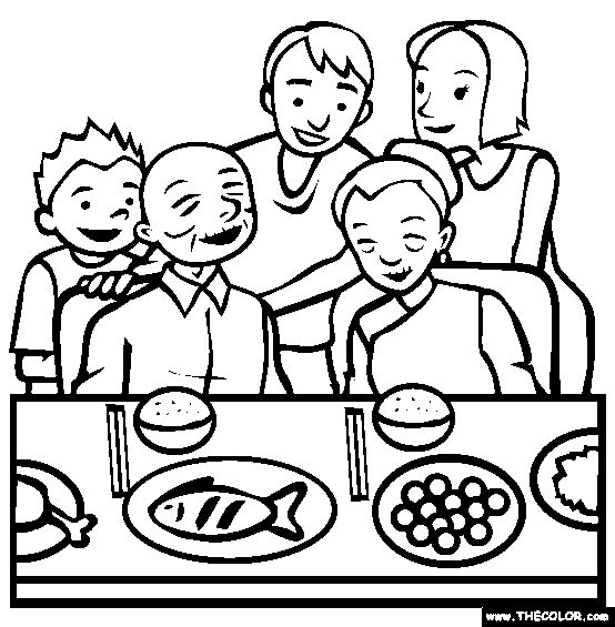 1000 images about coloring pages on pinterest coloring for Dinner coloring pages
