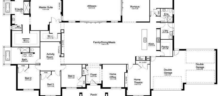 Floor Plan Friday: 5 bedroom acreage home