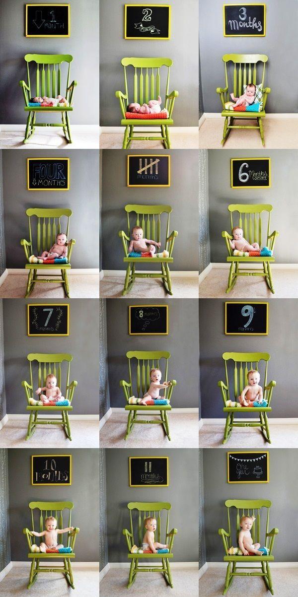 Clever child growth chart in photos Toni Kami ~•❤• Bébé •❤•~
