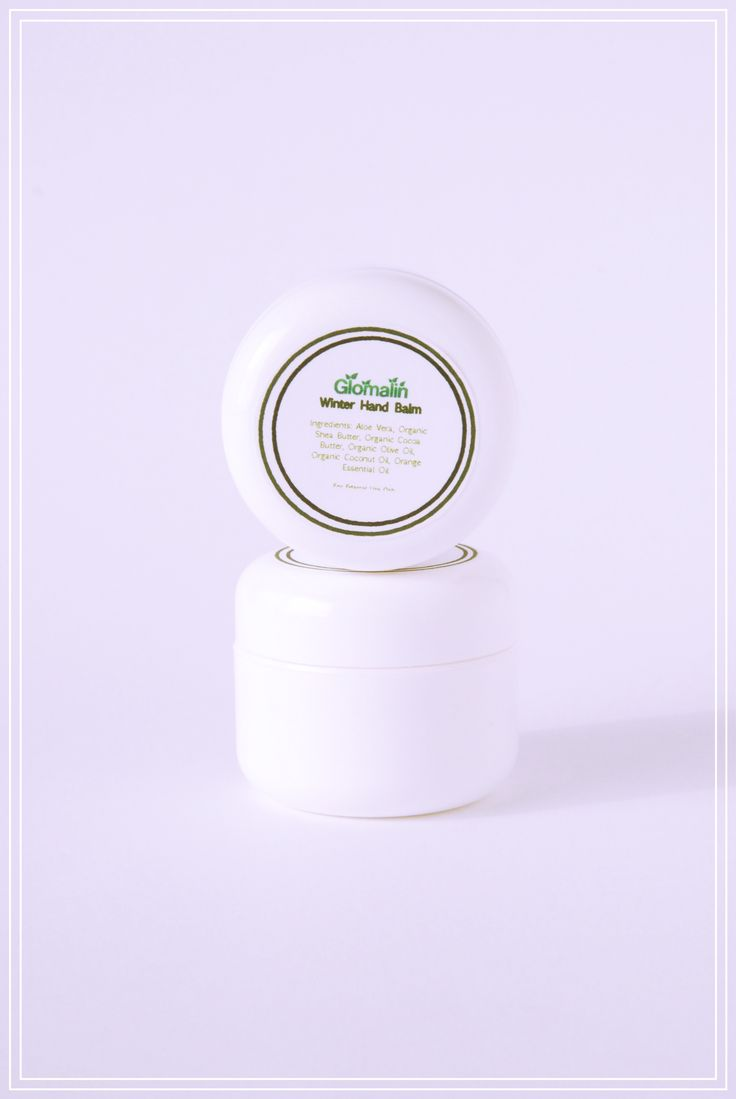 Glomalin Winter Hand Balm made from certified organic ingredients, shop at www.glomalin.ca