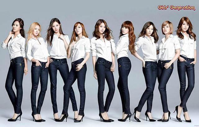 Girls Generation South Korean Girl Group Music Poster 11x17 – BananaRoad