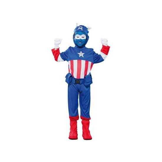 Kapitein superheld kostuum voor jongens