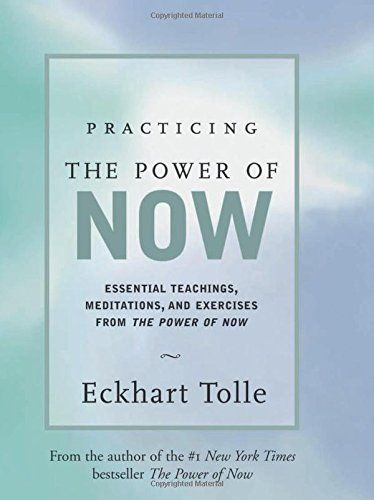 """""""Practicing the Power of Now: Essential Teachings, Meditations, and Exercises From The Power of Now,"""" by Eckhart Tolle, extracts the essence from teachings in The Power of Now, and shows you how to free yourself from enslavement to the mind. The aim is to be able to enter and sustain an awakened state of consciousness in your everyday life. Through meditations and simple techniques, he shows you how to quiet your thoughts, see the world in the present moment, and find a path to a life of…"""