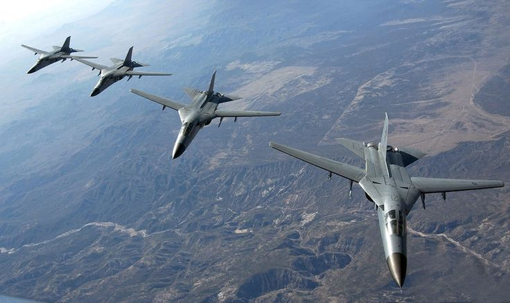 Flock of Royal Australian Air Force F-111C