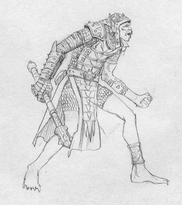 EQ - Sketch 072 - Keith Parkinson